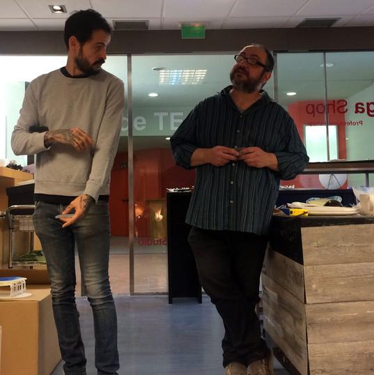 con Aitor Zabala
