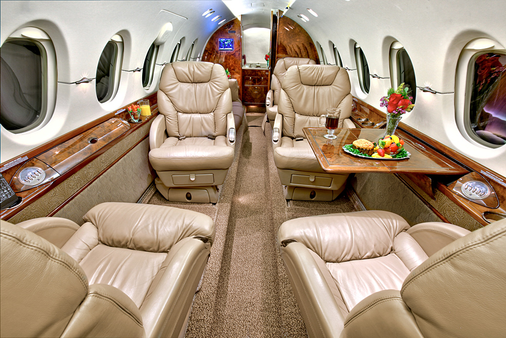 Interior Hawker 850XP