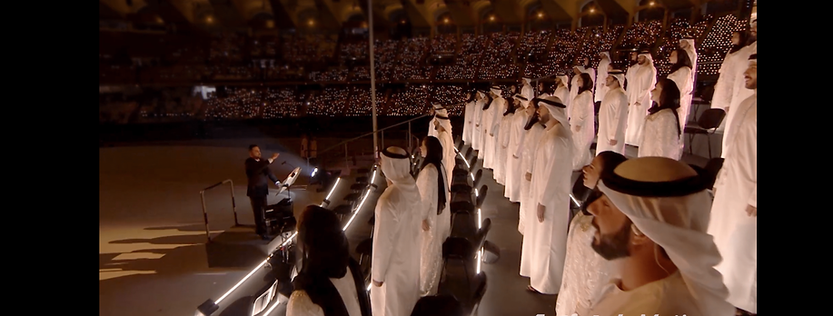 UAE national day event Choir