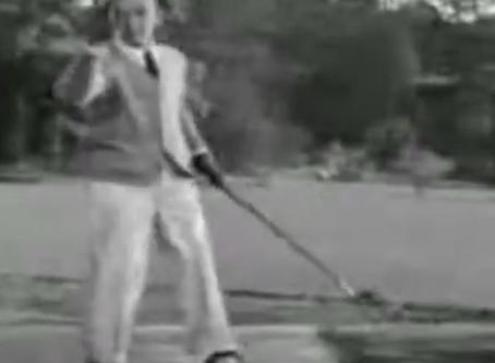 Tanzen und golfen - wie Fred Astaire...