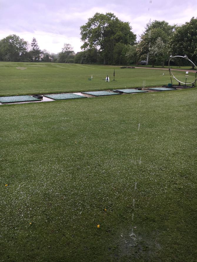 Fast kein schlechtes Golfwetter