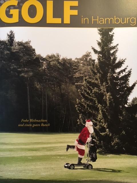 Hier golft sogar der Weihnachtsmann...