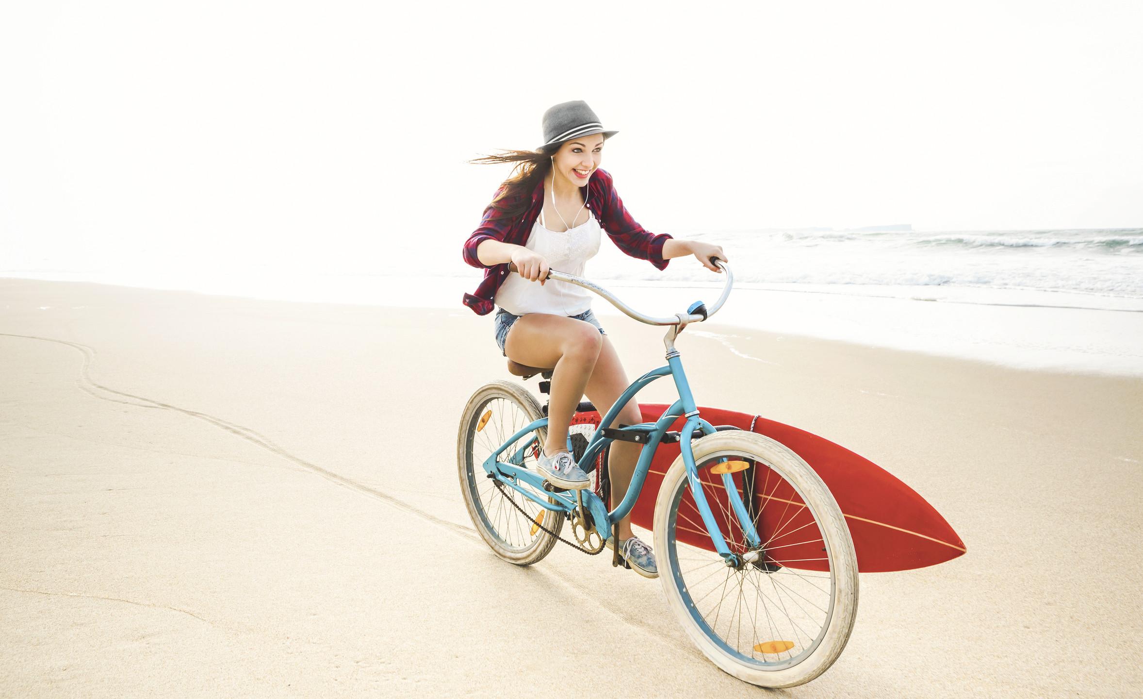 Radfahren, Surfen: Hauptsache raus!