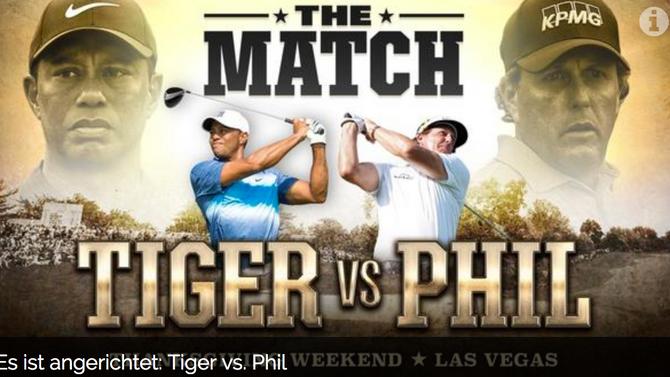 Der Tiger rydert in Paris - und dann geht's ab nach Las Vegas