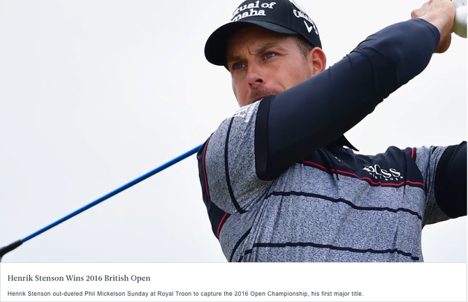 British Open 2016: Titanen-Golf!