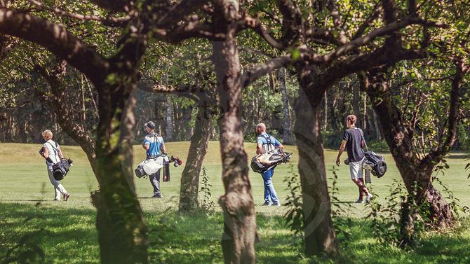 Schampus und Golf in Buxtehude!