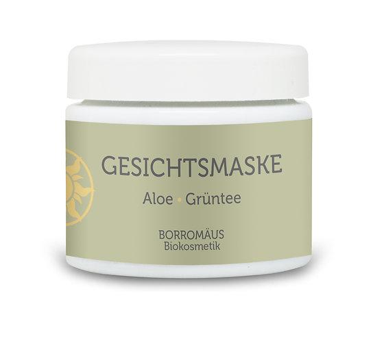Gesichtsmaske Aloe Grüntee Bio