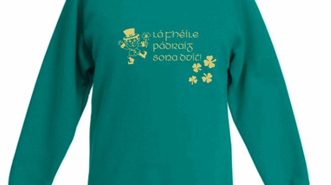St Patrick's Day Kids Sweatshirt