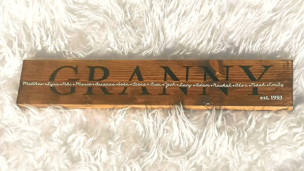 Mother's Day Wooden Sign