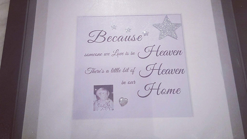 Heaven Remembrance Frame