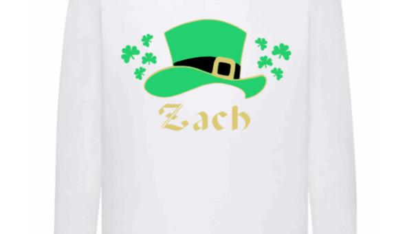 St Patrick's Day Kids Long Sleeve