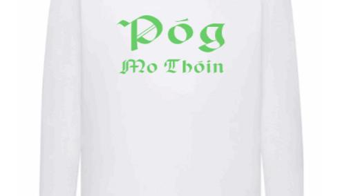 St Patrick's Day Mens Long Sleeve