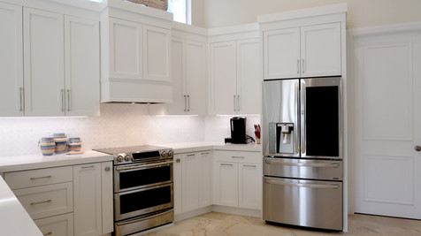 Contemporary Kitchen at Bay Colony Estates