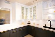 Custom two toned kitchen