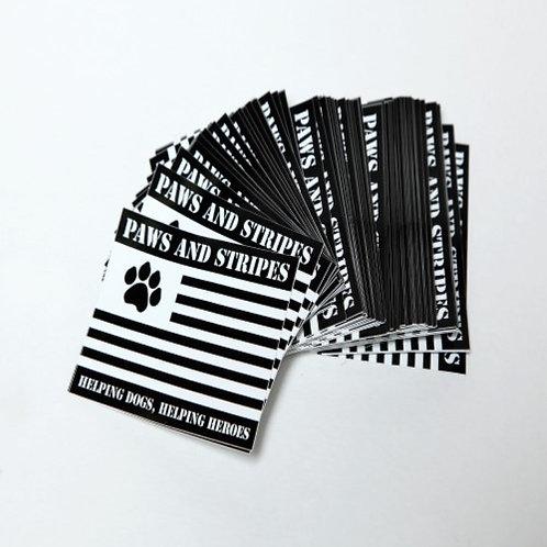 Black Logo Sticker