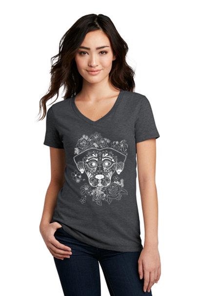 Dia De Los Perros Women's T-Shirts