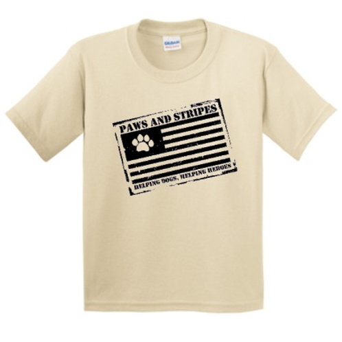 Youth Classic Paws Stamped T-Shirt