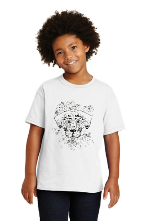 "Youth ""Color Me!"" T-Shirt: Dia de los Perros"
