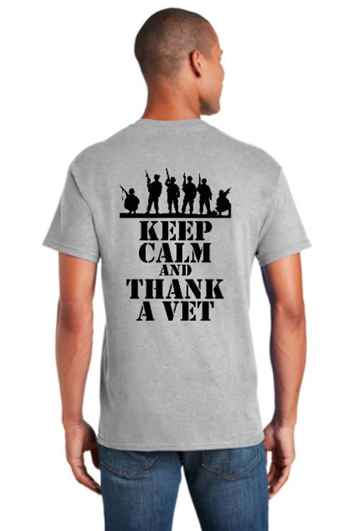 Thank A Vet Adult T-Shirt