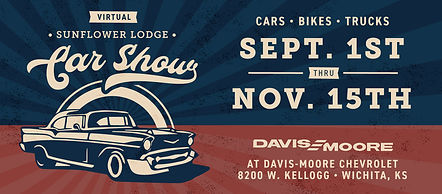 Davis Moore 2020 virtual car show banner