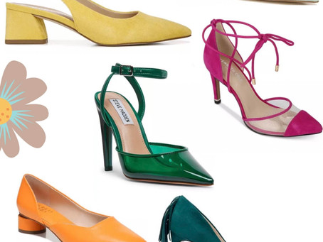 MY PICKS: Colorful Spring Heels