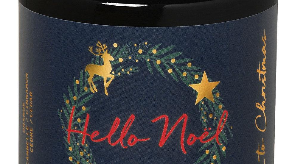 Bougie parfumée Christmas Hello Noël 140g FARIBOLES