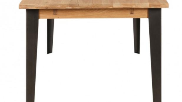 Table rectangulaire chêne et métal ZAGO