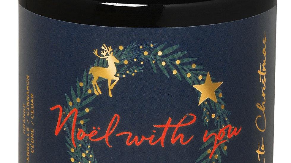 Bougie parfumée Christmas Noël With You 140g FARIBOLES