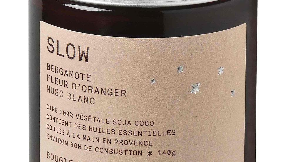 Bougie parfumée Slow 140g FARIBOLES