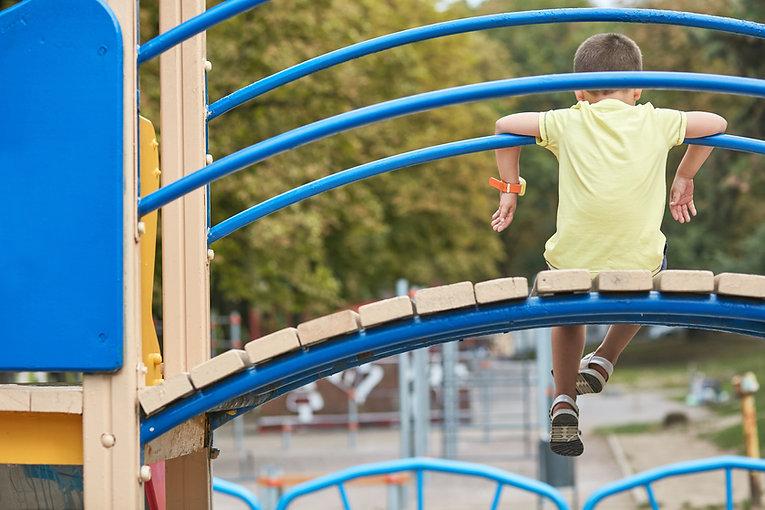 Boy at Playground