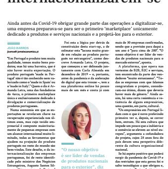 Portugal Exportador - Entrevista Jornal Económico