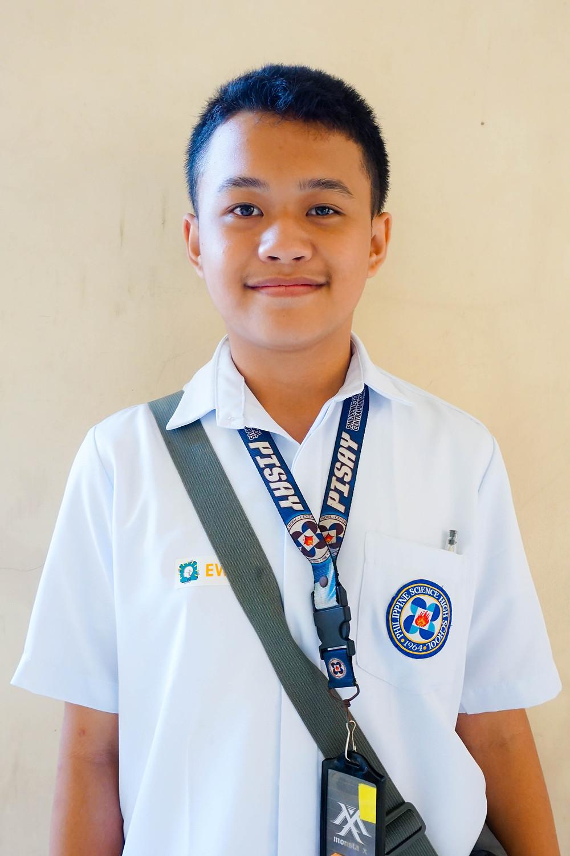 1st Place: Fahadh P. Abbas, Philippine Science High School - Central Mindanao Campus