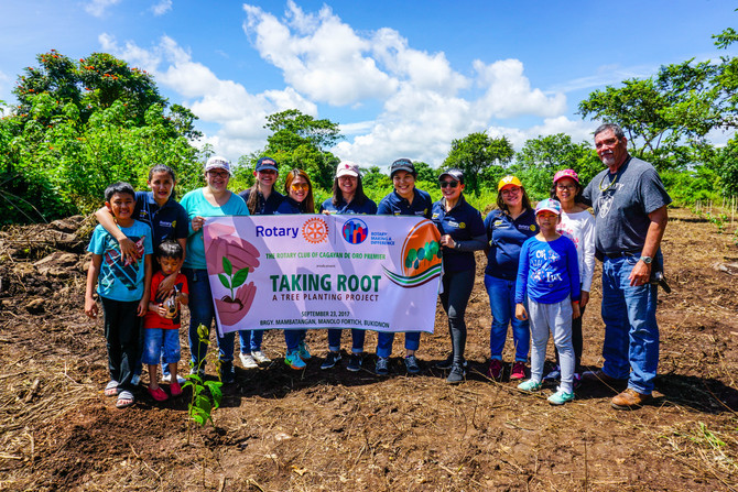 Taking Root: A Tree Planting Project