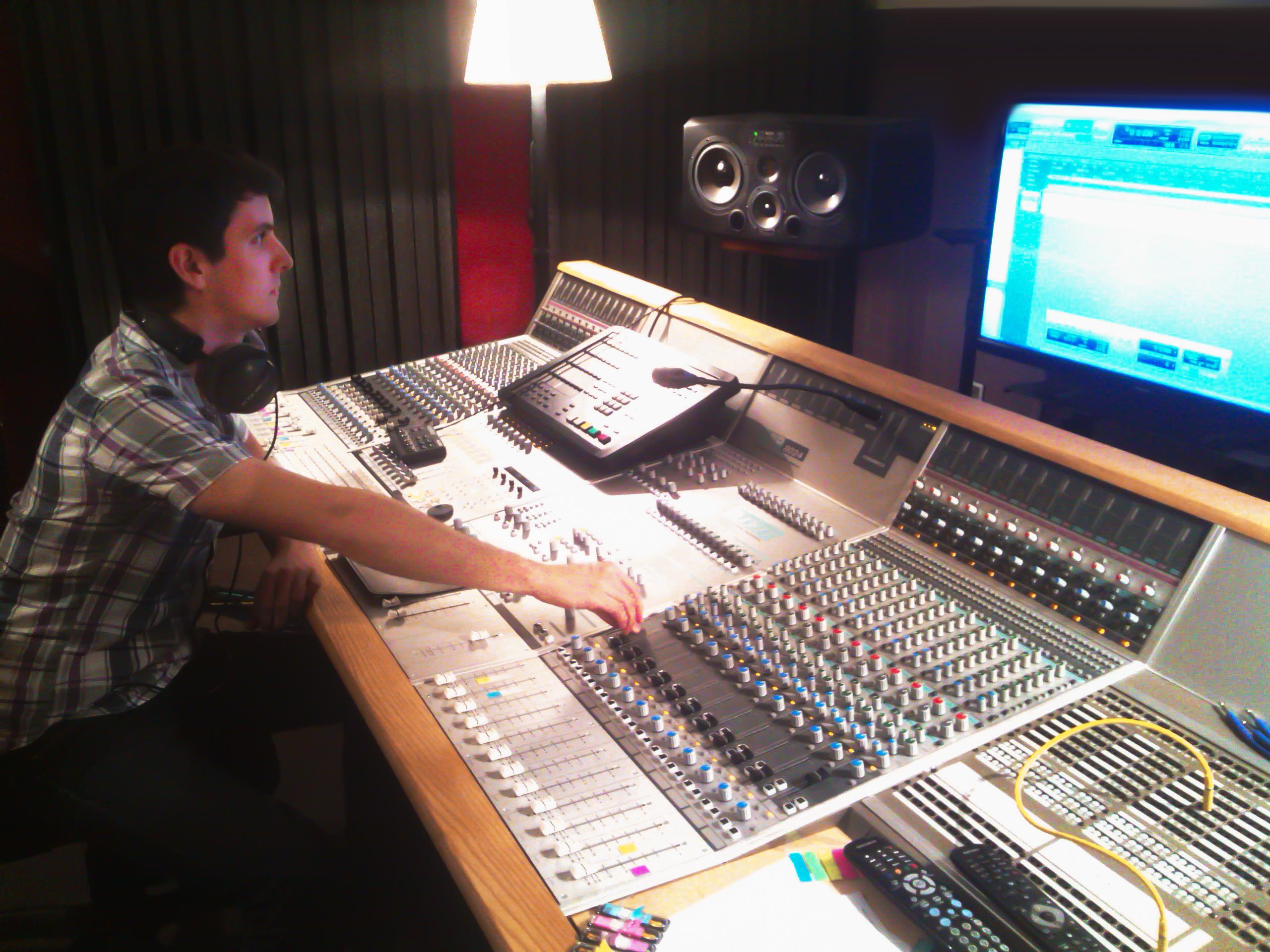 Mixage en studio