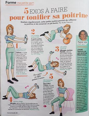 Patrick HELFER Personal Trainer coaching sportif Paris Femme Actuelle