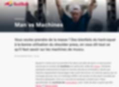 Patrick HELFER Personal Trainer coaching sportif Paris Red Bull