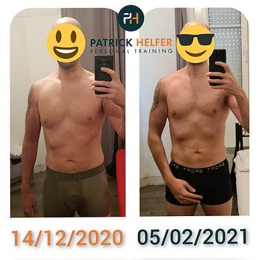 Patrick HELFER - Personal Training   Suivi en ligne   Témoignages perte de poids