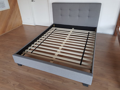 Fabric Bed Frame in Queen Size