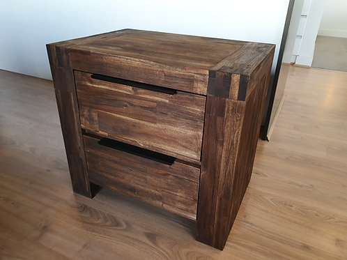 Timber Bedside Table (Caramel)