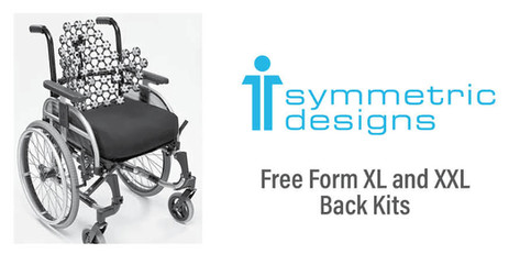 Symmetric Designs - Free Form XL and XXL Back Kits