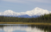 Scenic lake with Moutains