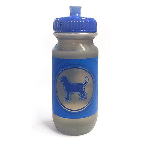 Bluedog Water Bottle: 21 & 25oz - Blue & Grey
