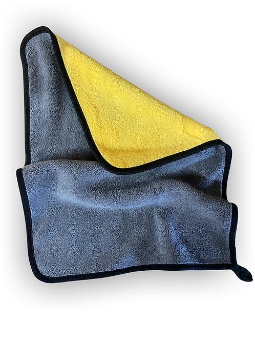 Microfibre Cloth - Grey/Yellow