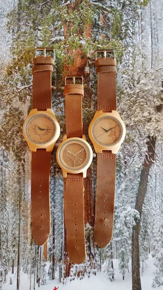 The Deer Collection by Wood On Time
