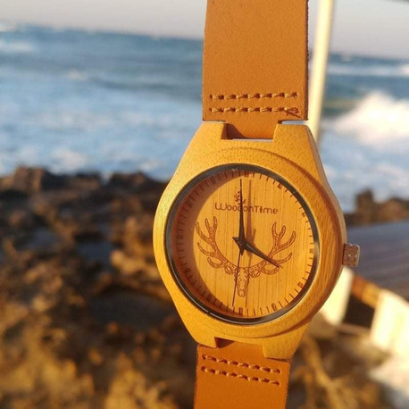 Forrest wooden and leather watch by wood on time.jpg