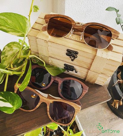 All wooden quality sunglasses with polarized lenses by Wood On Time.jpg