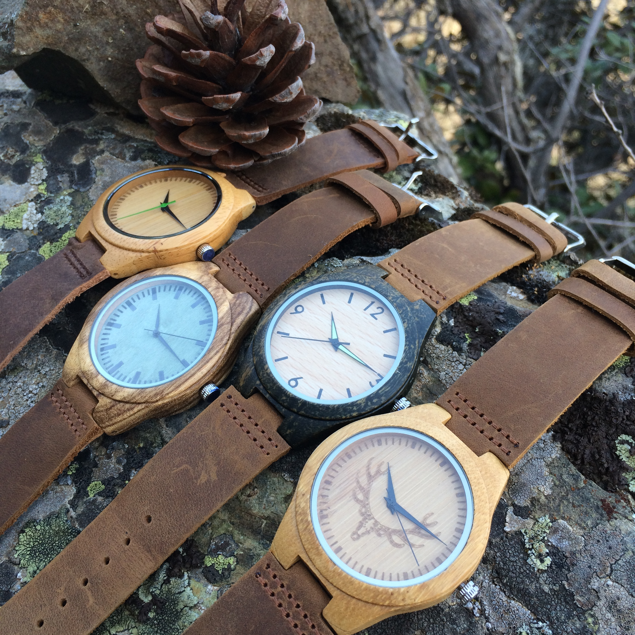 Wood On Time wayches
