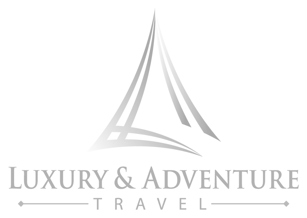 luxury & adventure travel logo