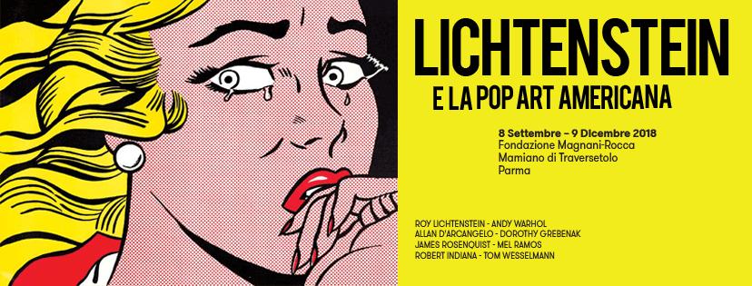 Lichtenstein e la Pop Art americana