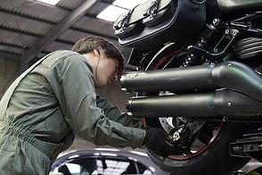 輸入バイクの修理・整備